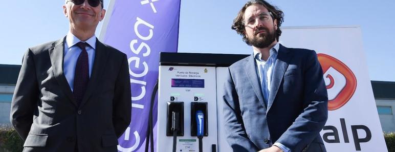 Izq a dcha: Josep Trabado, director general de Endesa X, y Miguel Gil, Director Gas&Power de Galp en España